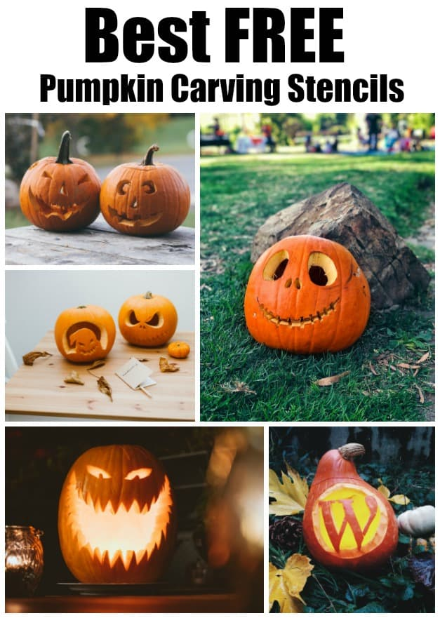 best free pumpkin carving stencils