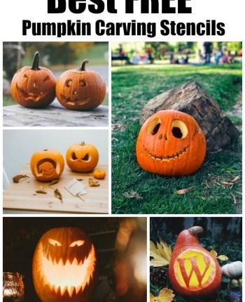 best free pumpkin carving stencils
