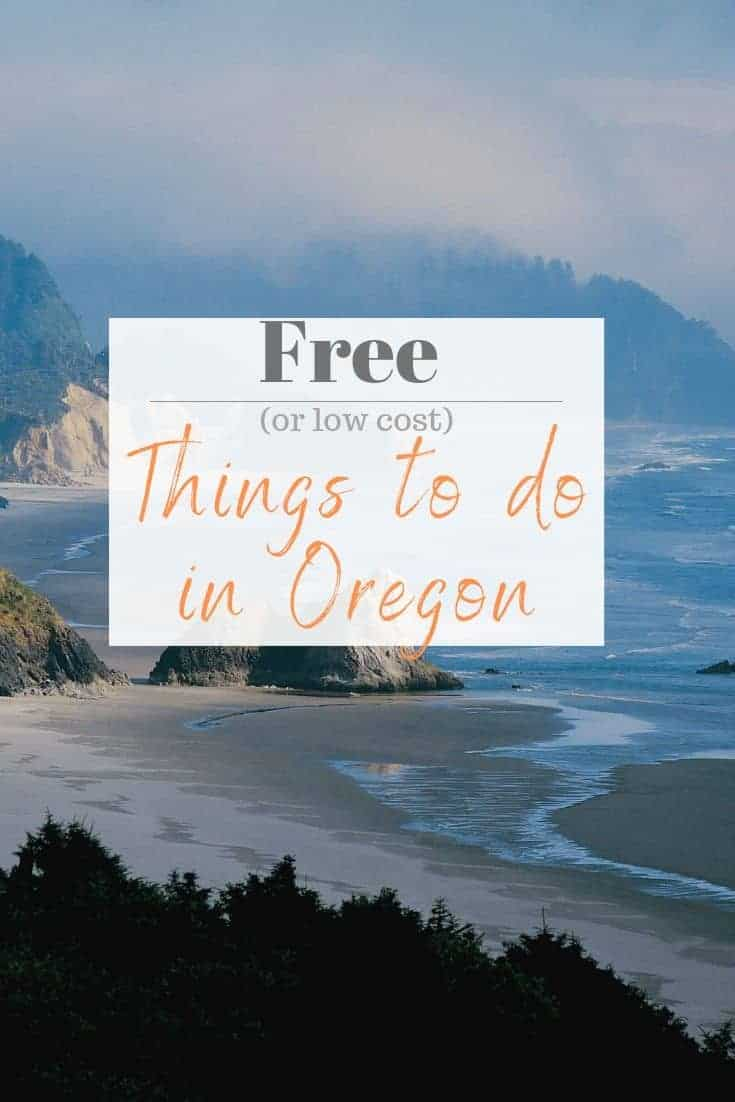 10 Free (or low cost) Things to Do in Oregon