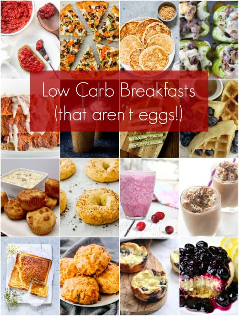 Best Low Carb Breakfast Ideas