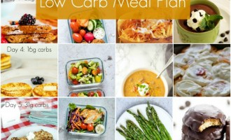 free 7 day keto meal plan