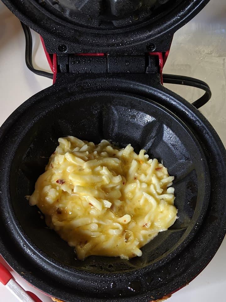 easy chaffle bowls