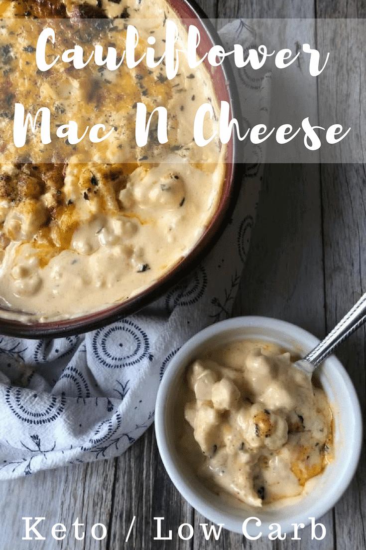 Keto Cauliflower Mac and Cheese Recipe