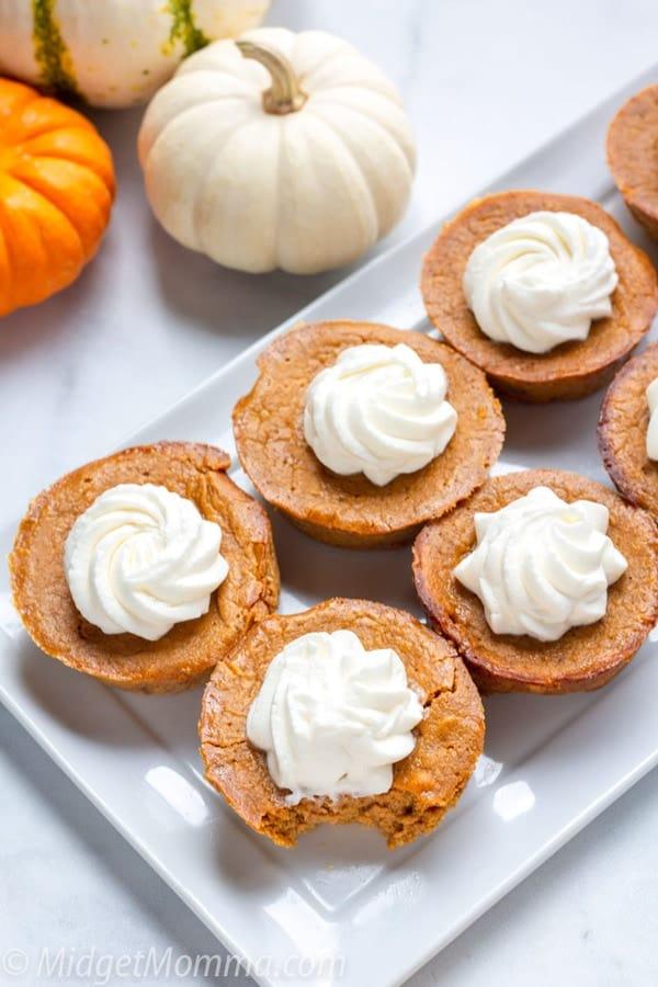 Crustless Low Carb Pumpkin Pie