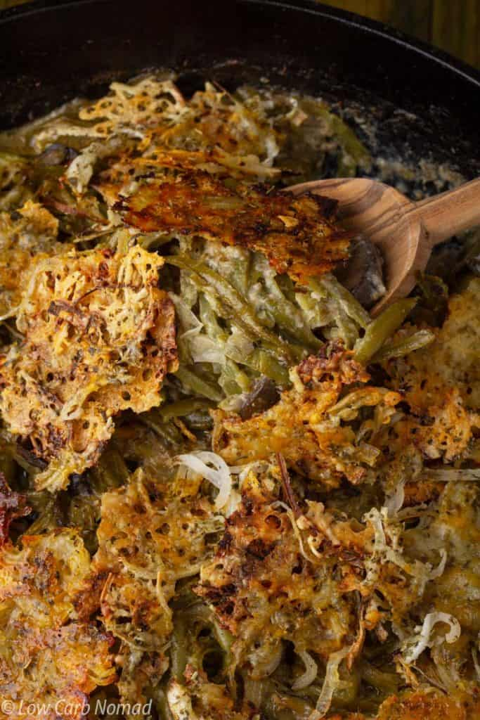 Keto Green Bean Casserole Recipe