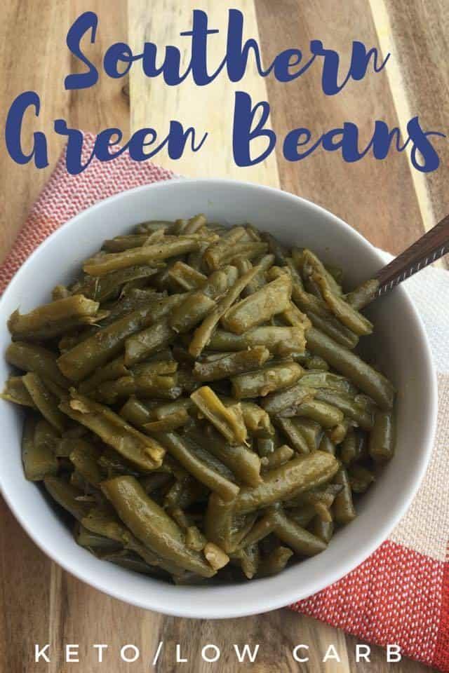 Southern Green Beans {Keto Friendly/Low Carb}